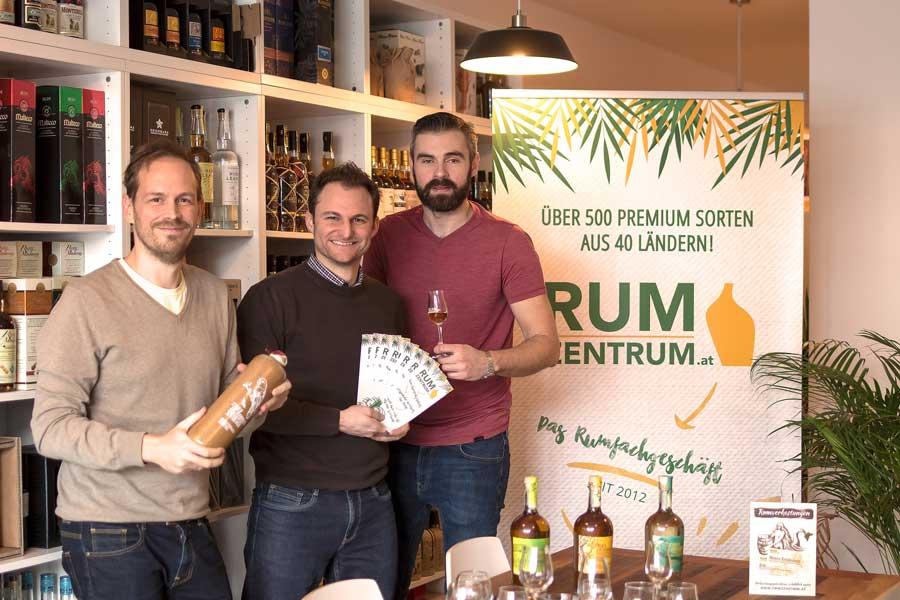 Fachgeschäft für Rum in Niederösterreich Baden