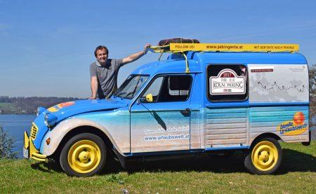 Oldtimer-Reise quer durch Europa nach Asien Mit historischen Fahrzeugen durchqueren die Reiseteilnehmer unter Leitung von Reiseprofi Harald
