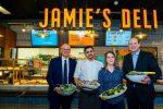 """""""Jamie's Deli"""" am Flughafen Wien: Jamie Oliver ist mit Take-Away-Lokal gelandet"""