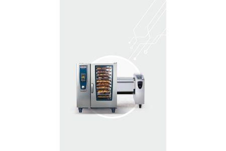 """Digitale Vernetzung für Küchengeräte Gastronomie """"ConnectedCooking"""": Geräte von Rational oder Frima lassen sich so in ein Netzwerk einbinden, zentral steuern und digital verwalten."""