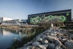 Linzer Hafen: Graffiti-Galerie lädt zum Mitmachen ein