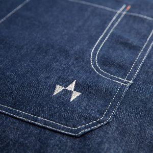 Jeans Kochjacke Gastronomie Robini Elegante Kochjacke aus Jeans-Stoff: Jedes Robini-Modell wird gerne personalisiert.