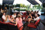 """""""flow Terrasse"""": Tapas und Drinks mit Blick auf die Donauinsel"""