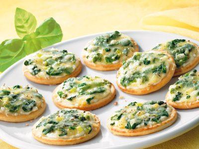 Praktisches Fingerfood, das vorzüglich schmeckt: Die feinen Picobellis eignen sich perfekt für Stehbuffets oder Straßenfeste.