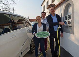 Ladepunkt für E-Autos als Mehrwert für Gäste