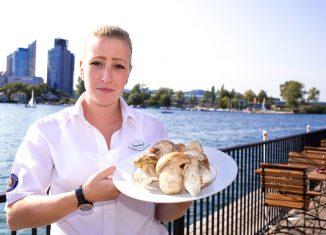 Köstlichkeiten mit Schwammerl und Kürbis Strandcafé