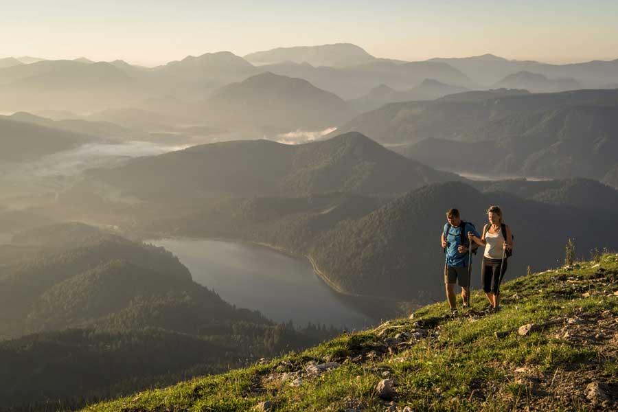 Niederösterreichs Sommertourismus bilanziert positiv Bergsommer Gemeindealpe
