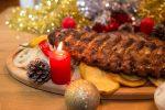 Advent im Strandcafé Alte Donau: Ripperl, Steaks und Hühnerflügel