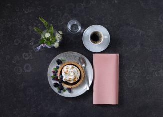 Neue Farben für Tischdekoration Tork Gast Messe 2017