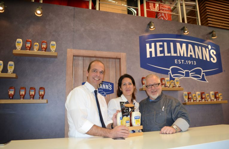 Mayonnaise Ketchup Hellmanns Gast Salzburg 2017