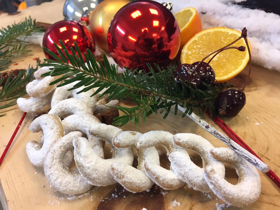 Rezept für Vanillekipferl Advent Cuisino-Restaurants