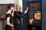 """Wesual auf der """"Alles für den Gast"""": Digitale Kreidetafel als Blickfang für Lokale"""