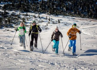 Schneeschuhwandern in Niederösterreich Raxalpe