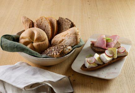 Glutenfreie Backwaren für die Gastronomie Haubis