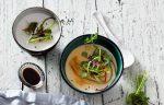 Vegetarisch, köstlich, kalorienarm: Seidentofu mit Kimchi