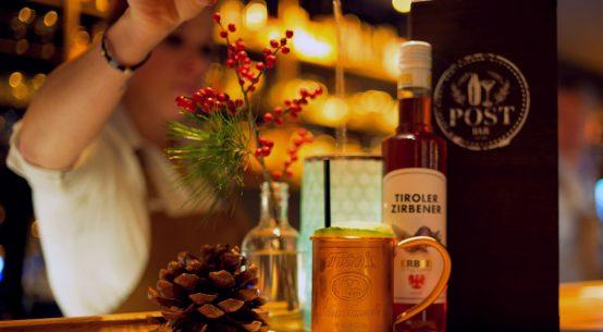 Kreative Cocktails in urbanem Chic Post Bar St. Johann