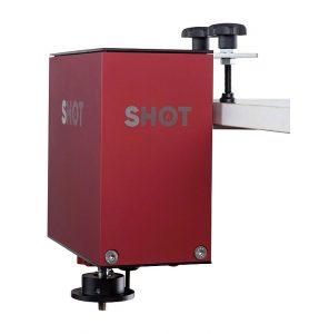 """Praktisch und einfach anzubringen: Der """"Hot Shot"""" kann auch an die Bar geklemmt werden."""
