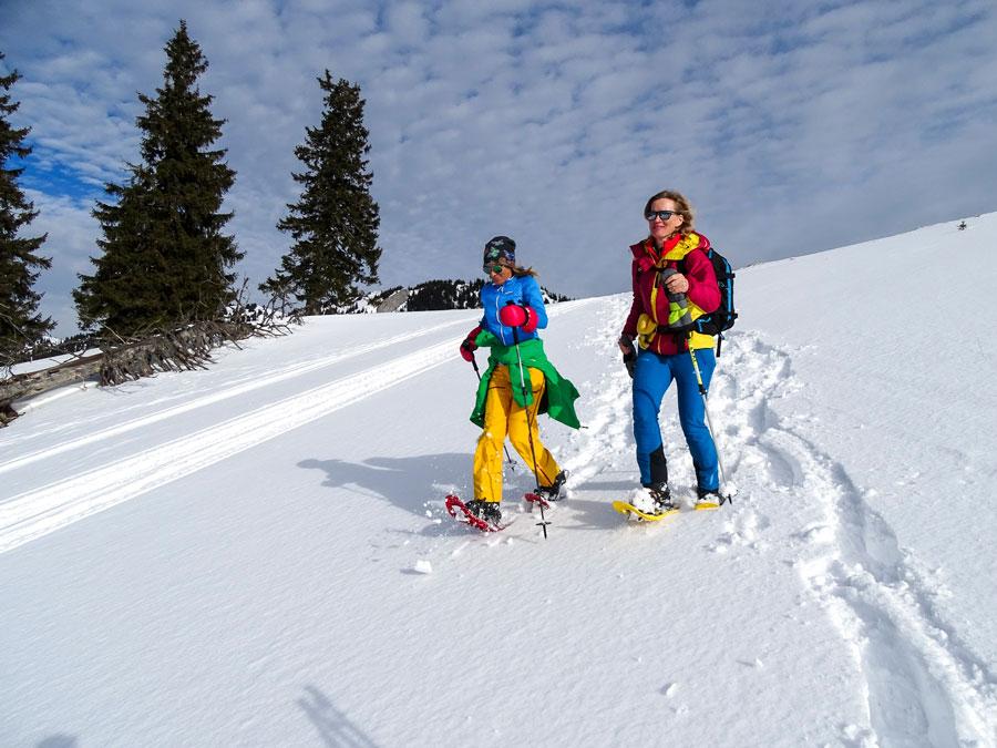 Erstes Schneeschuh-Festival in Österreich
