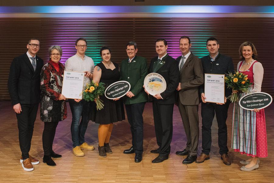 Gaststätte Figl St. Pölten ist Top-Wirt des Jahres 2018