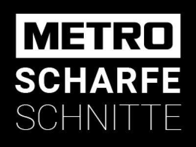 Metro scharfe schnitte