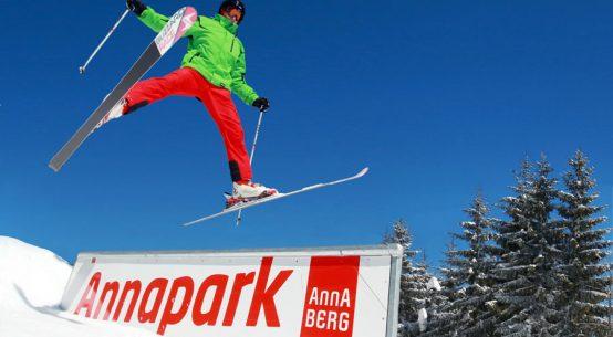 Freestyle-Vergnügen für Groß und Klein Anna-Park