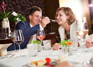 Romantische Dinner zum Valentinstag Cuisino