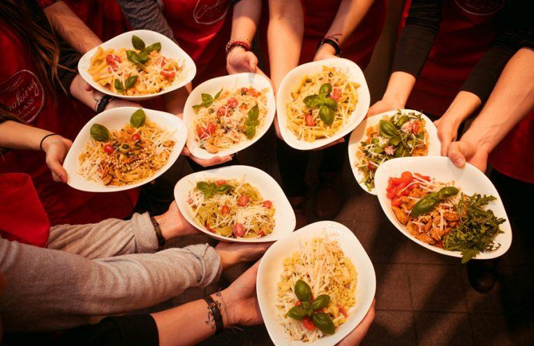 Koch-Workshops Pasta Seafood Vegetarisches Vapiano