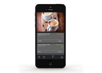 Gastronomie App Bestellung abgeben Speed Drink
