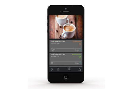 Gastronomie App: Wertvolle Unterstützung für das Service-Team: Mit der Speed Drink-App wird es Gästen leicht gemacht, schnell und einfach Getränke oder Speisen nachzubestellen.
