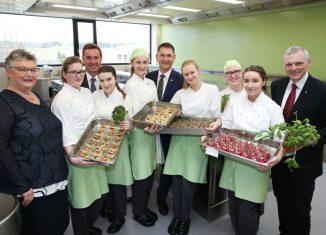 Neue Schulküche für junge Gastro-Profis Neumarkt