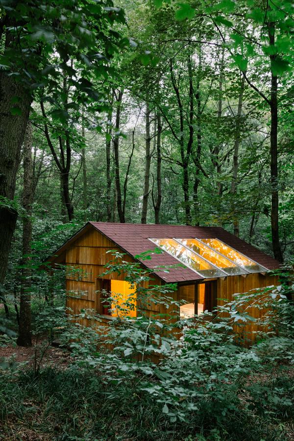 Ochys Waldhütten bieten eine grandiose Aussicht auf die Natur und das Firmament.