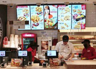 Digitale Werbedisplays für die Gastronomie TiPOS