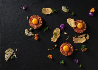 Rezept für ein Rinder-Tatar Kochbuch Il Melograno