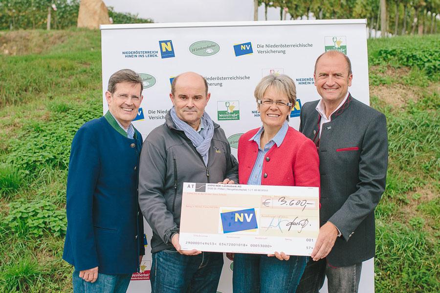 Niederösterreich Charity-Weinlese 2014