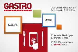Gastro Portal Willkommen