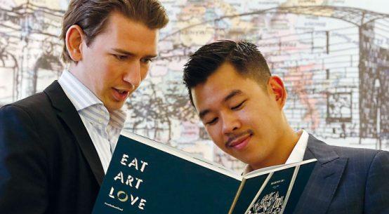 Blue Heart Campaign, Martin Ho, Sebastian Kurz, DOTS