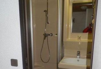 Fertigkabine Badezimmereinrichtung zu verkaufen