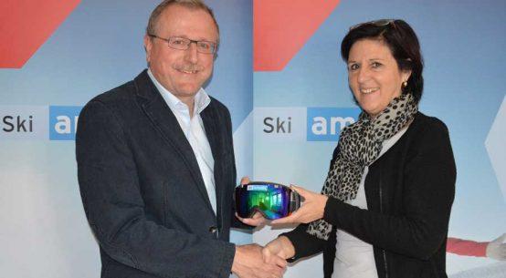 Amtsübergabe Ski amade