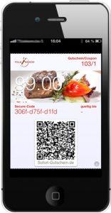 Sofort-Gutscheine Gutschein Firmedia iPhone