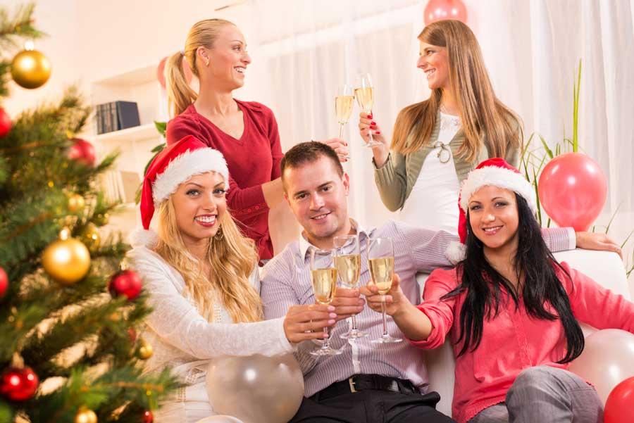 GASTRO Portal frohe Weihnachten Fest mit Freunden