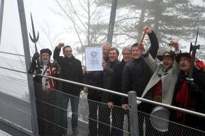 Hängebrücke Weltrekord