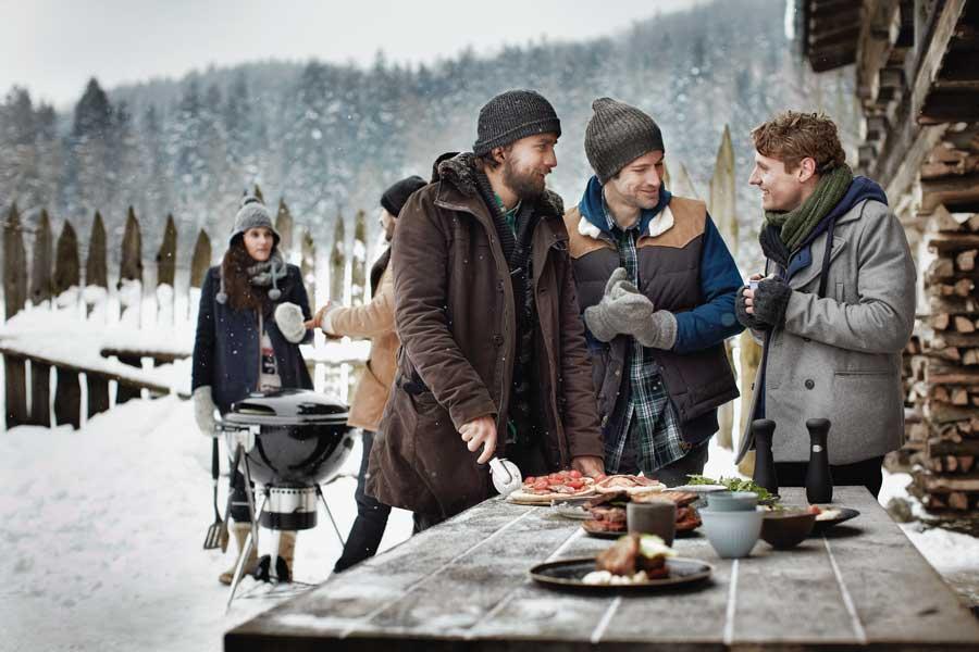 Wintergrill Rezept Schinken Weber Stephen Winter