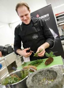 Kochwettbewerb S Pellegrino Young Chef