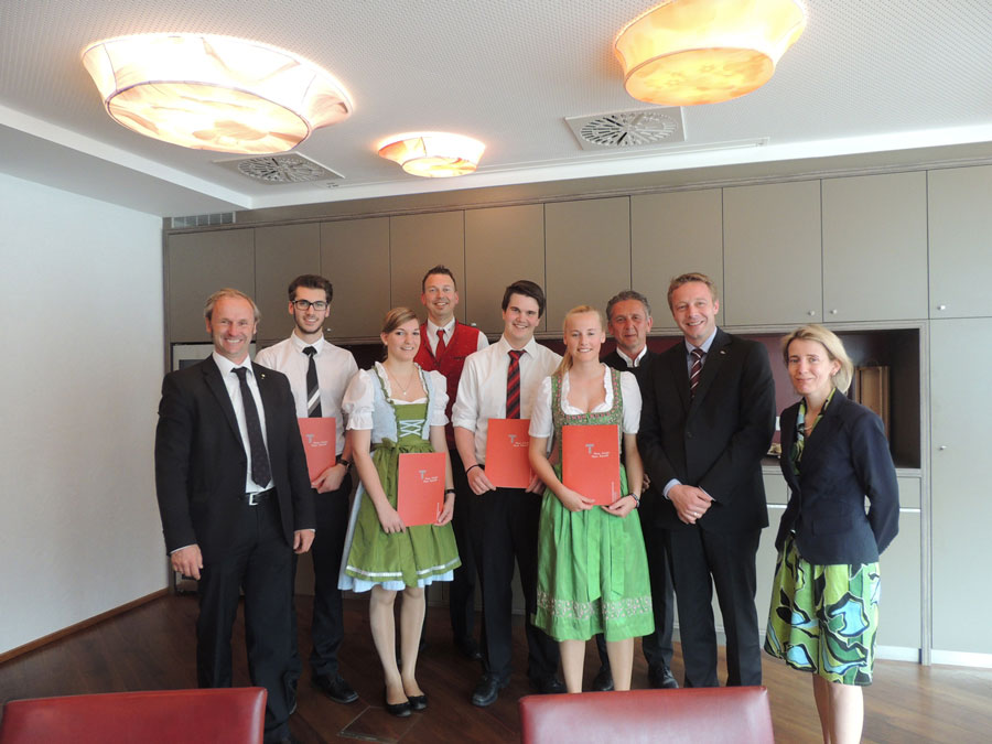 Jungsommeliers Bramberg Tourismus