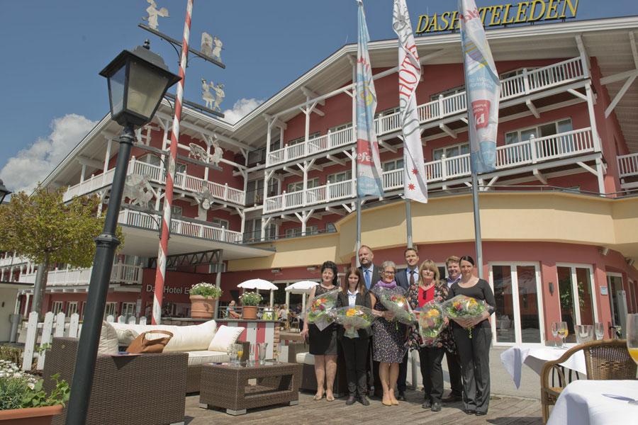 Mitarbeiter Ehrung Hotel Eden