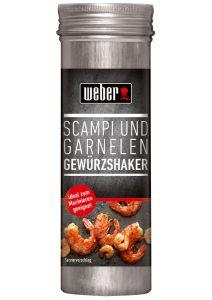 Perfekte Grill Gewürze Weber  ScampiGarnele Gewuerzshaker