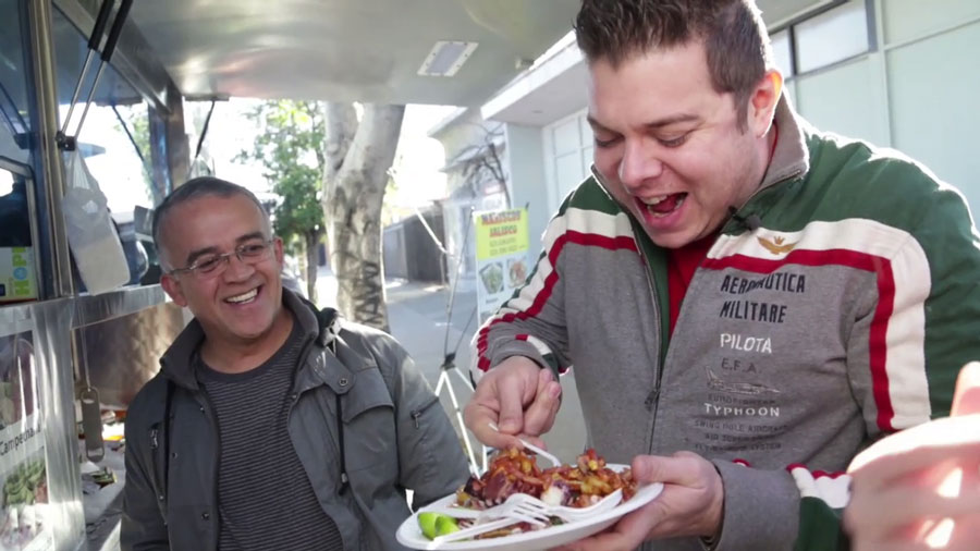 Food and Travel Serie auf YouTube Mexiko Reise