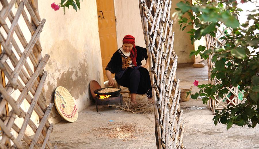 Öl für die mediterrane Küche Arganöl Röstung