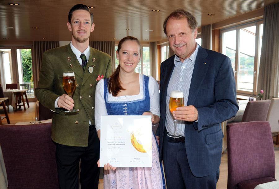 Bierkrone für Restaurant Das Traunsee