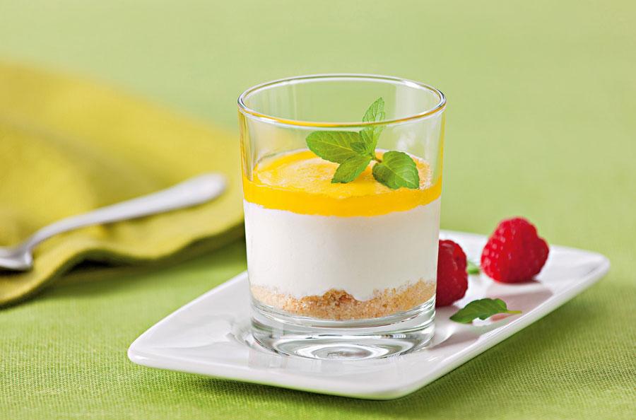 Desserts Nestle Schöller Gast Messe Mini Joghurt Mango Parfait